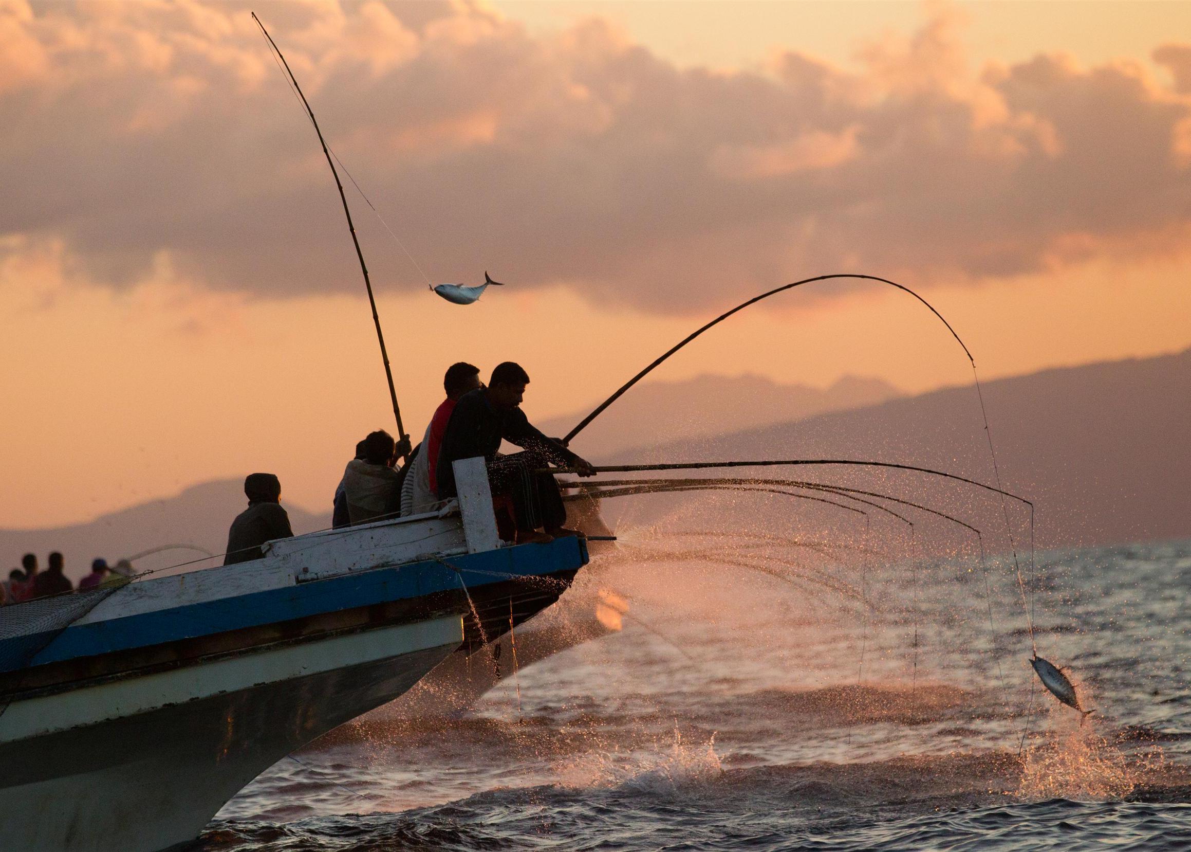 pesca en las maldivas