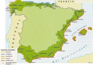 pesca españa mapa