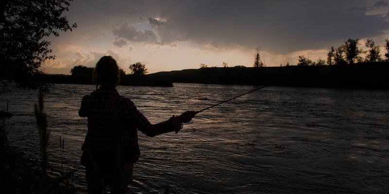pescar de noche
