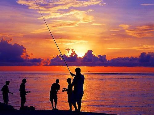 pescar en las maldivas