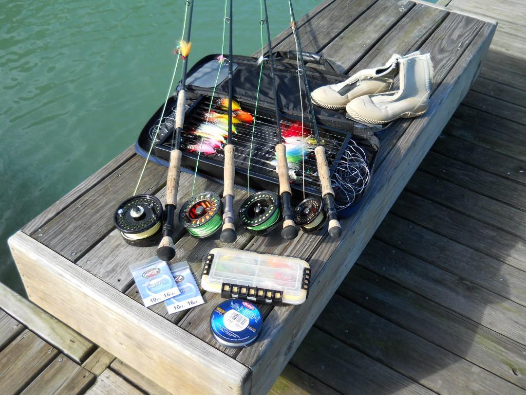 utensilios pesca