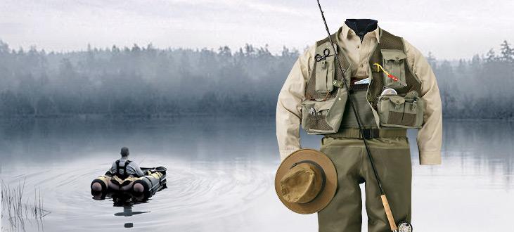 vestimenta de pesca
